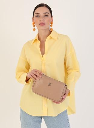 Crossbody - Camel - Cross Bag