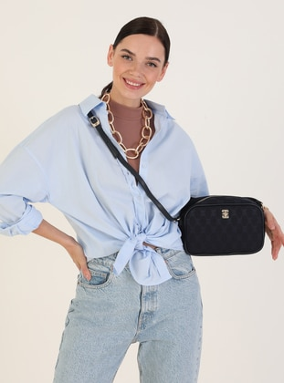 Satchel - Navy Blue - Cross Bag