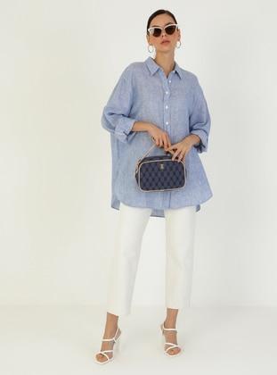 Satchel - Blue - Cross Bag