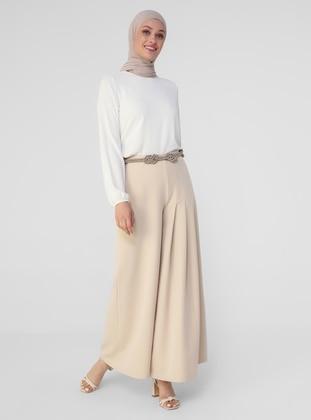 Beige - Culottes