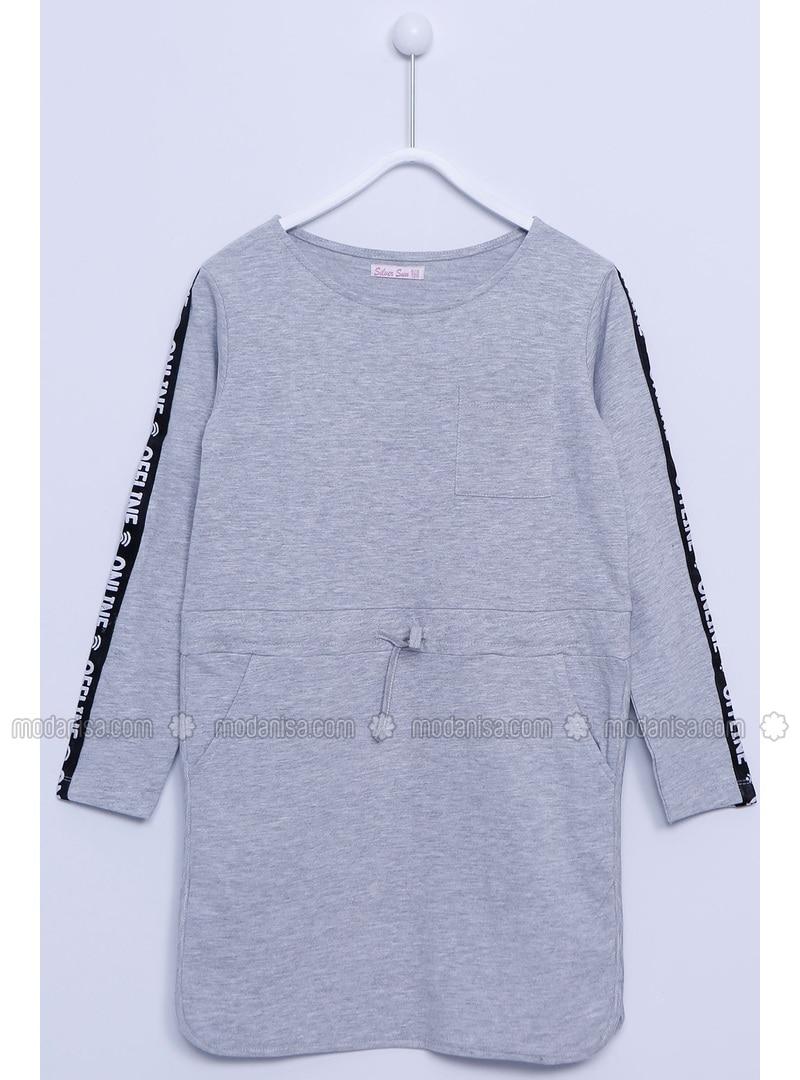 Gray - Girls` Dress