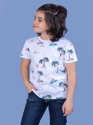 Ecru - Boys` T-Shirt