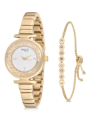 Gold - Watch - Polo Rucci