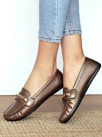 Copper - Flat - Flat Shoes