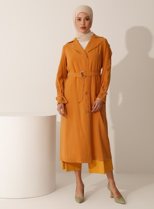 Mustard - Unlined - Trench Coat