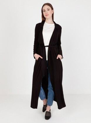 Black - Unlined - Kimono