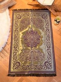 Gold - Plum - Prayer Rugs