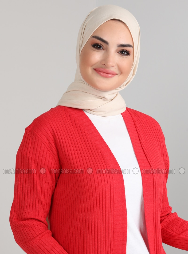 Red - Cotton - Tunic
