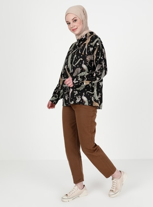 Brown - Pants