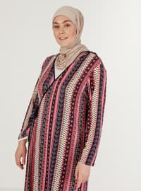 Pink - Multi - Unlined - Prayer Clothes