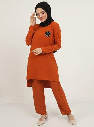 Cinnamon - Unlined - Suit