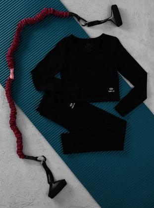 Black - Activewear Set