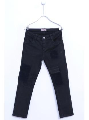 Black - Boys` Pants - Silversun