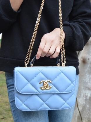 Baby Blue - Crossbody - Satchel - Shoulder Bags
