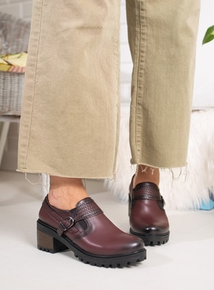 Maroon - Casual Shoes