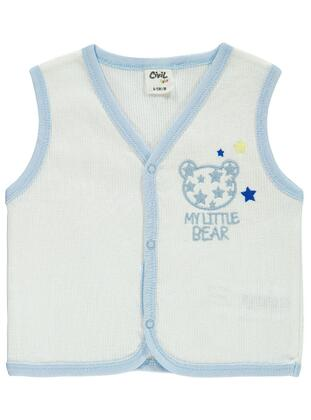 Blue - Baby Vest - Civil