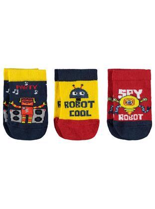 Red - Socks - Civil