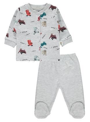 Gray - Baby Pyjamas - Civil