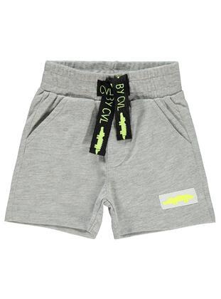 Gray - Baby Shorts - Civil