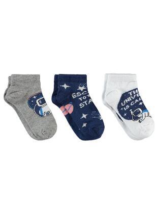 Navy Blue - Socks - Civil