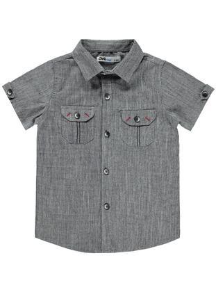 Gray - Boys` Shirt - Civil