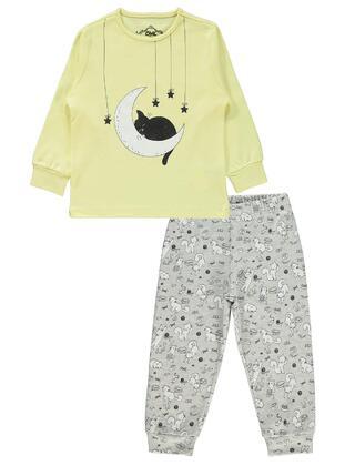 Yellow - Girls` Pyjamas - Civil
