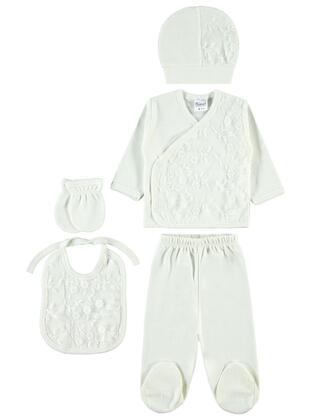 Ecru - Baby Underwear Set - Civil