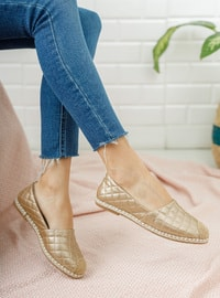Gold - Casual Shoes