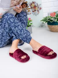 Maroon - Home Shoes