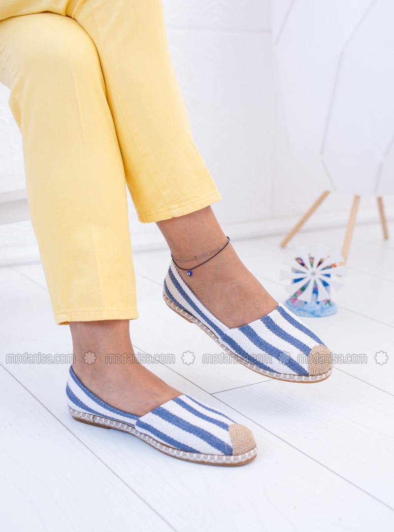 Blue - Casual Shoes