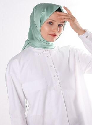 Sea-green - 100% Silk Shawl