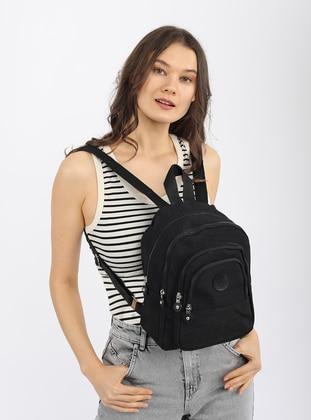 Black - Backpack - Backpacks - Madamra