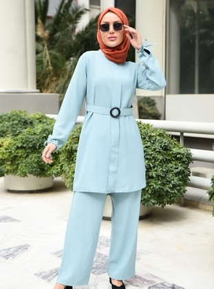 Turquoise - Unlined - Suit