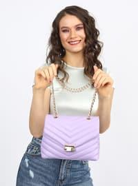 Lilac - Satchel - Shoulder Bags