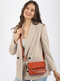 Crossbody - Satchel - Orange - Cross Bag