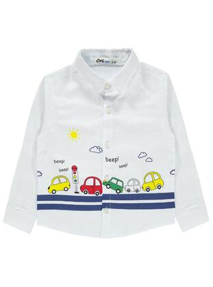 Ecru - Boys` Shirt - Civil