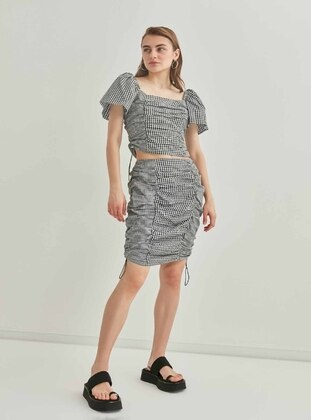 Black - Plus Size Skirt