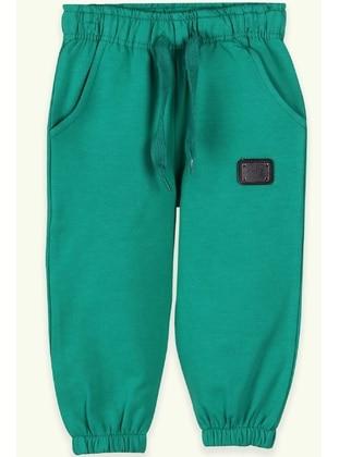 Green - Baby Sweatpants - Breeze Girls&Boys