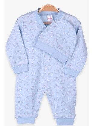 Baby Blue - baby sleepers - Breeze Girls&Boys