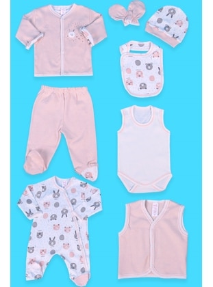 Salmon - Baby Care-Pack - Breeze Girls&Boys