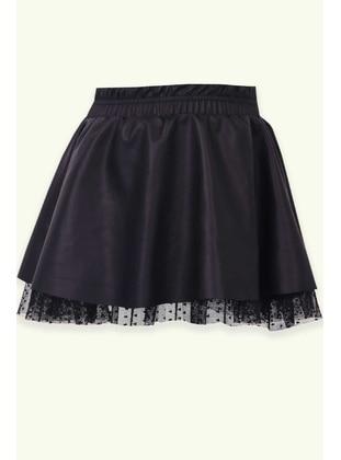 Black - Girls` Skirt - Breeze Girls&Boys