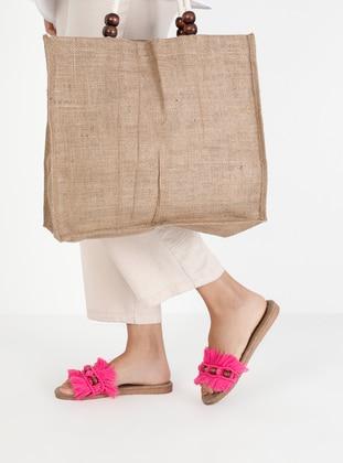 Fuchsia - Sandal - Suit