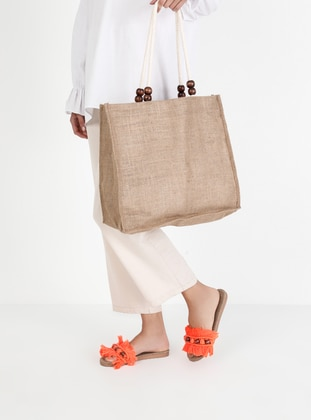 Orange - Sandal - Suit