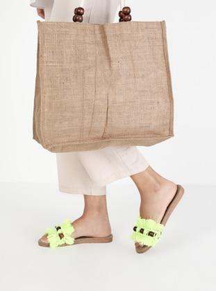 Green - Sandal - Suit