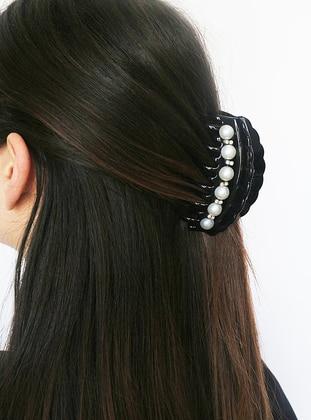 Black - Hair Bands - Takıştır Bijuteri