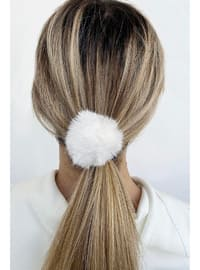 White - Hair Bands