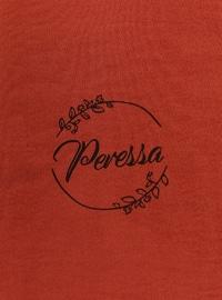 Terra Cotta - Printed - Shawl