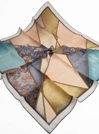 Turquoise - 100% Silk Scarf