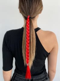 Red - Hair Bands