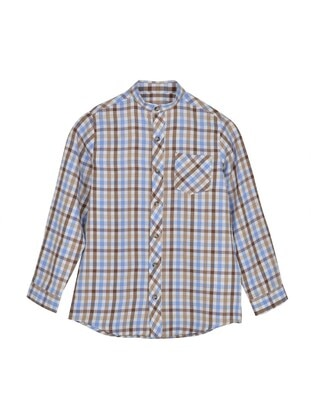 Brown - Boys` Shirt - Silversun